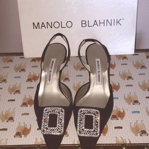 Manolo Blahnik Evening shoes signed ❤️
